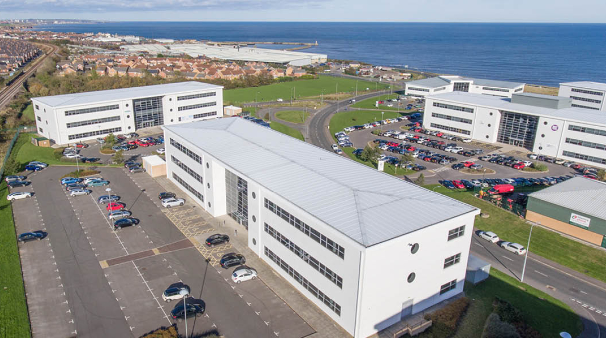 Spectrum open plan office space in the north east